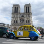 2CV Paris Tour - Visit Paris by 2CV! Notre Dame of Paris