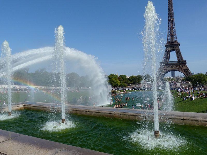 2CV Paris Tour : Visit Paris by 2CV - The Trocadéro
